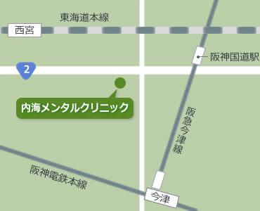 1F 簡易地図